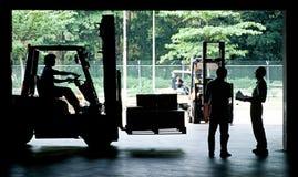 Forklift Imagens de Stock Royalty Free
