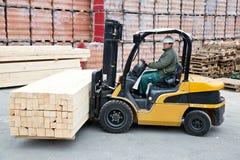 Forklift Στοκ Εικόνες