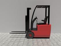 Forklift Στοκ εικόνα με δικαίωμα ελεύθερης χρήσης