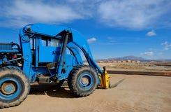 Forklift imagem de stock