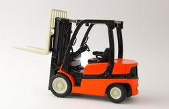 Forklift. Isolated on white background Royalty Free Stock Images
