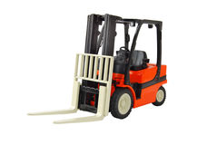 Forklift. Isolated on white background Stock Images