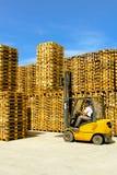 Forklift da carga imagens de stock royalty free