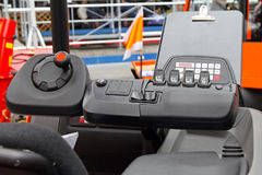 Forklift dashboard Stock Photos