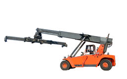 Forklift do recipiente Foto de Stock