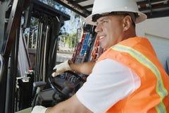 Forklift Driver Stock Image