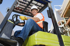 Forklift Driver Stock Photos