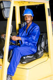 Forklift driver Royalty Free Stock Photography