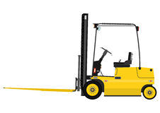 Forklift with extensions Stock Photography