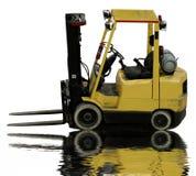 Forklift industrial foto de stock