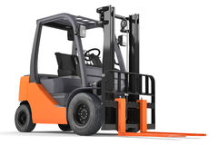 Forklift isolated Stock Image