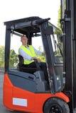 Forklift kierowca Obraz Stock