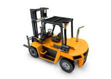 Forklift Lift truck isolated Stock Photo