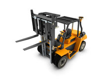Forklift Lift truck isolated Stock Photos