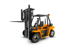 Forklift Lift truck isolated Royalty Free Stock Photography