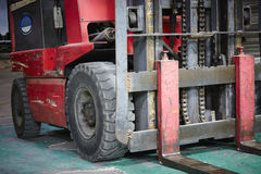 Forklift loader Royalty Free Stock Image