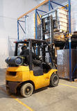 Forklift loader stacking Stock Photography