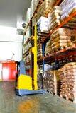 Forklift loading Stock Photos