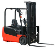 Forklift from my warehouse equipment series Royalty Free Stock Photos