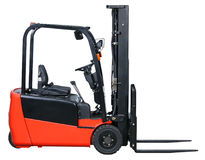 Forklift from my warehouse equipment series Stock Photo