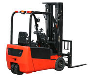 Forklift from my warehouse equipment series Royalty Free Stock Photo