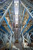 forklift przemysłu storehouse Zdjęcie Stock
