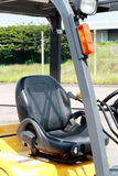 Forklift seat Stock Image