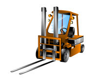 Forklift Truck Royalty Free Stock Image