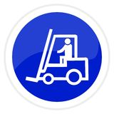 Forklift truck Stock Photos