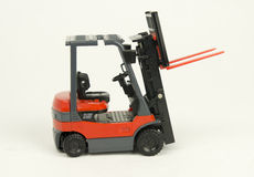 Forklift truck model Royalty Free Stock Photography