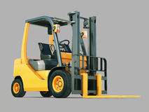 Forklift truck Royalty Free Stock Photography