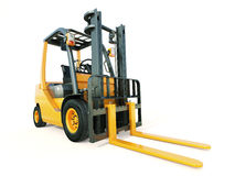 Forklift truck Royalty Free Stock Images