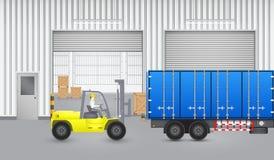 Forklift_truck Stock Photos