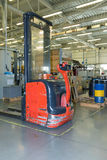 The forklift truck Royalty Free Stock Photos