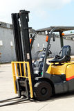 Forklift vehicle Royalty Free Stock Photos