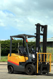 Forklift vehicle Royalty Free Stock Image
