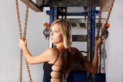 Forklifter Imagen de archivo libre de regalías