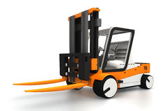 Forklifter 3d model Royalty Free Stock Photo