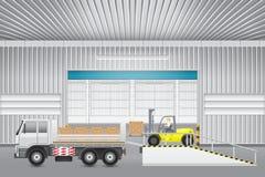 Forkliftfactory Stock Photos