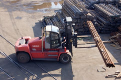 Forklifts Royalty Free Stock Images