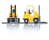 Forklifts Royalty Free Stock Photos
