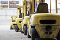forklifts Photo libre de droits