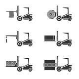 Forklifts Stock Image