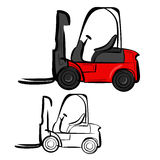 Forklifts Royalty Free Stock Photography