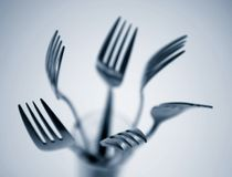 Forks Stock Photography