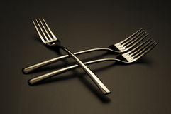 Forks Royalty Free Stock Images