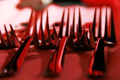 Forks Royalty Free Stock Photo