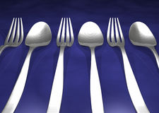 Forks Royalty Free Stock Image
