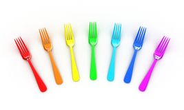 The forks Stock Image