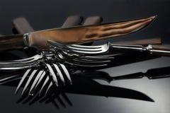 forks kniven Royaltyfria Foton